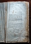 Script at the top says New Garden 2.  Was this the second book in the library or was this from the second New Garden Meeting located in I believe Pennsylvania. Also note it was bought in 1737 by William Fairbanke