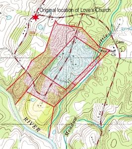 USGS GeoTIFF DRG 1:24000 Quad of Locust. Product:615851
