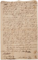 Indenture of Samuel Butler to Anna Thomas to learn the business of husbandry