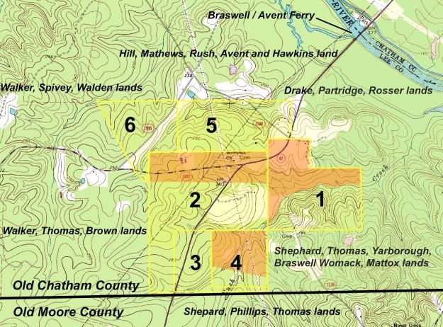 USGS GeoTIFF DRG 1:24000 Quad of Moncure. Product:615994