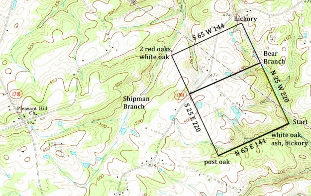 Oakboro, NC, 1:24,000 quad, 1971, USGS