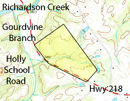 Olive Branch, NC, 1:24,000 quad, 1970, USGS