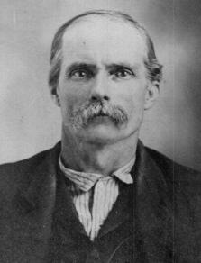 Portait of John Adam Burris as verified by elder family members
