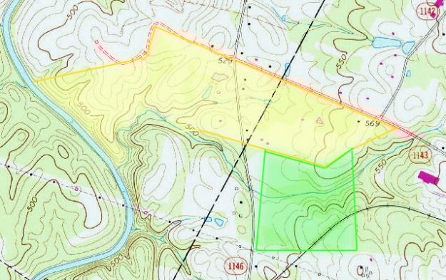 Stanfield, NC, 1:24,000 quad, 1971, USGS
