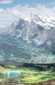 View towards Grindelwald