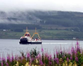 Ferry at Fishnish